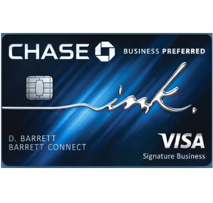 Chase Ink Business Preferred Card-80,000 UR点数